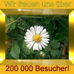 200 000 Besucher