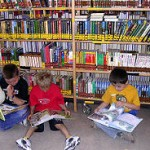 Bücherei schmökern 2