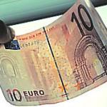 Euro Sicherheit Wasserzeichen
