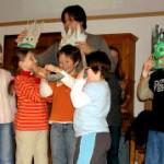 Gogoch spitze Steine Kinder