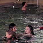 Hallenbad im Wasser