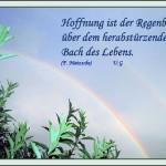 Hoffnung ist der Regenbogen