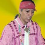 Indianer Perry alleine