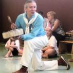 Indianer Perry mit Trommel