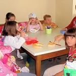 Kindergartenbesuch Jause