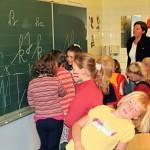 Kindergartenbesuch schreibschrift